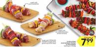 In-store Made Assorted Beef - Chicken or Pork Kabobs