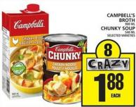 Campbell's Broth Or Chunky Soup