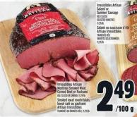 Irresistibles Artisan Montreal Smoked Meat - Corned Beef Or Pastrami