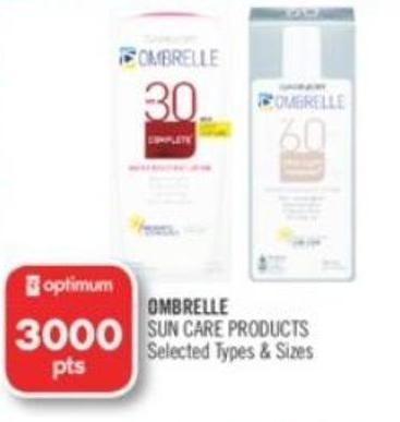 Ombrelle Sun Care Products