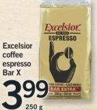 Excelsior Coffee Espresso Bar X - 250 G