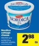 Nordica Cottage Cheese - 450/500 G Or 4x100/113 G
