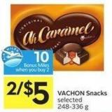 Vachon Snacks Selected 248-336 g - 10 Air Miles Bonus Miles