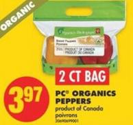 PC Organics Peppers - 2 Ct Bag