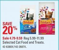 Purina Selected Cat Food and Treats