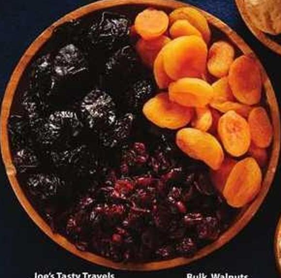 Joe's Tasty Travels Dried Fruit
