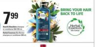 Head & Shoulders Shampoo Or Conditioner - 650 - 700 mL - Herbal Essences Bio:renew Shampoo Or Conditioner - 600 mL