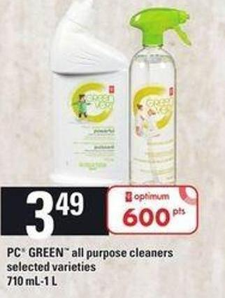 PC Green All Purpose Cleaners - 710 Ml-1 L