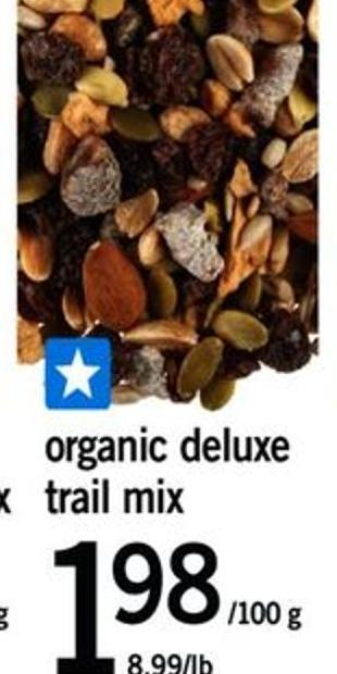 Organic Deluxe Trail Mix