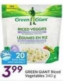 Green Giant Riced Vegetables  340 g - 20 Air Miles Bonus Miles
