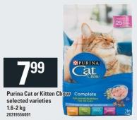 Purina Cat Or Kitten Chow