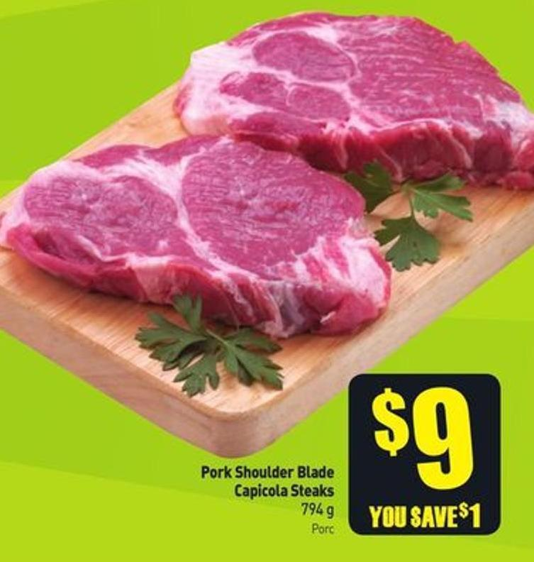 Pork Shoulder Blade Capicola Steaks 794 g