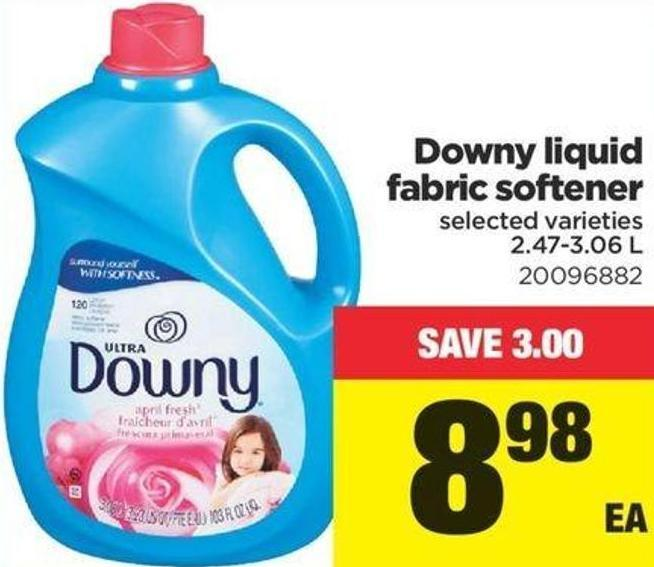 Downy Liquid Fabric Softener - 2.47-3.06 L