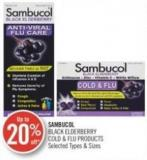 Sambucol Black Elderberry Cold & Flu Products