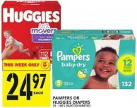 Pampers Or Huggies Diapers 92 - 168's