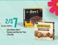 Select Nature Valley Premium And Fibre One Bars