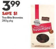 Two-bite Brownies 280g Pkg