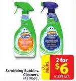 Scrubbing Bubbles Cleaners