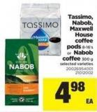 Tassimo - Nabob - Maxwell House Coffee PODS - 8-16's Or Nabob Coffee - 300 G