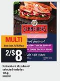 Schneiders Sliced Meat - 175 g