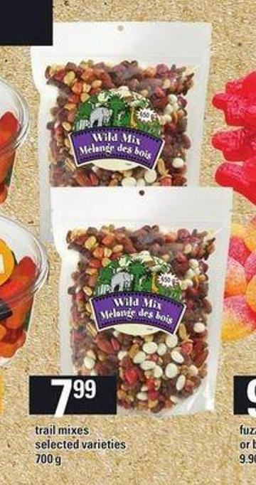 Trail Mixes - 700 g