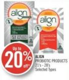 Align Probiotic Products 21's - 28's