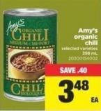 Amy's Organic Chili - 398 mL