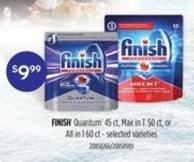 Finish Quantum - 45 Ct - Max In 1 - 50 Ct - Or All In 1 - 60 Ct