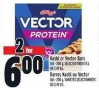 Kashi Or Vector Bars 160 - 200 g