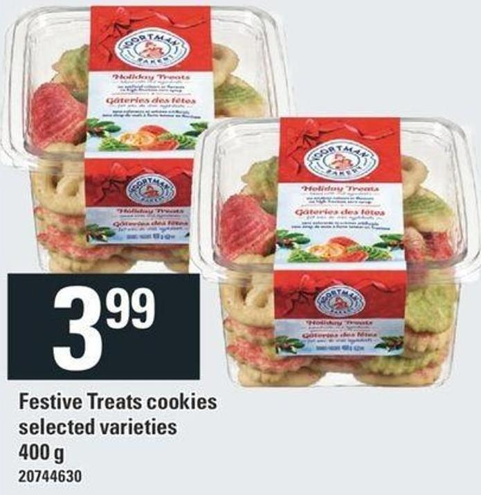 Festive Treats Cookies - 400 g