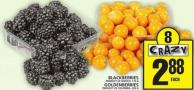 Blackberries Or Goldenberries