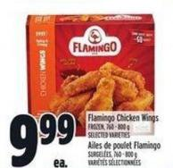 Flamingo Chicken Wings