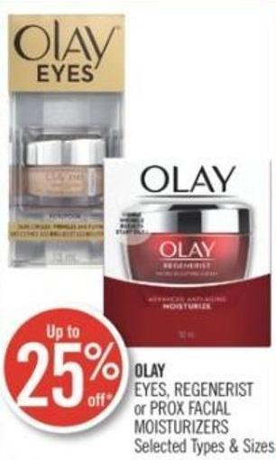 Olay Eyes - Regenerist or Prox Facial Moisturizers