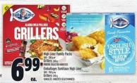 High Liner Family Packs 500 - 700 G Or Grillers 240 G
