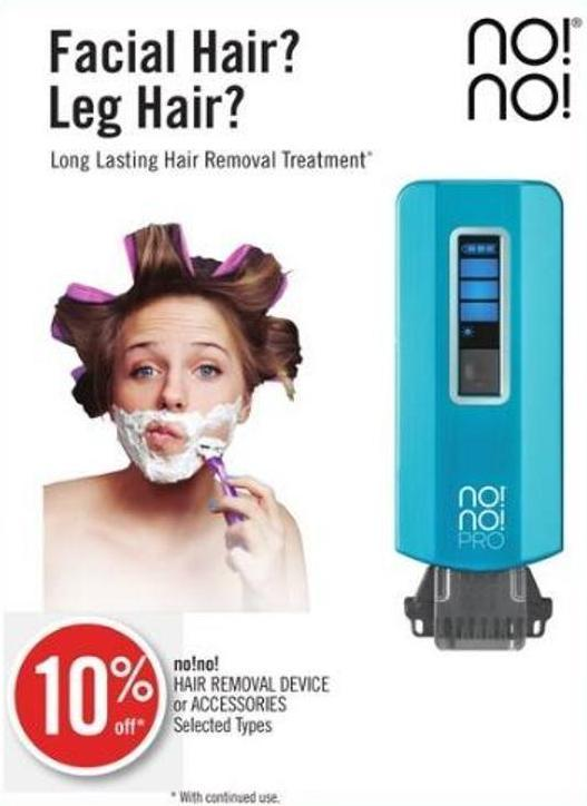 No!no! Hair Removal Device or Accessories