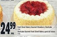 Front Street Bakery Gourmet Strawberry Shortcake