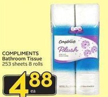 Compliments Bathroom Tissue