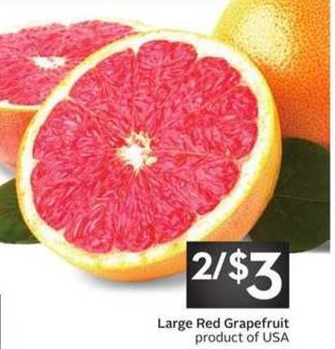 Large Red Grapefruit Product of USA