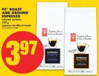 PC Roast And Ground Espresso - 250 g