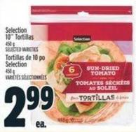 Selection 10in Tortillas 450 G