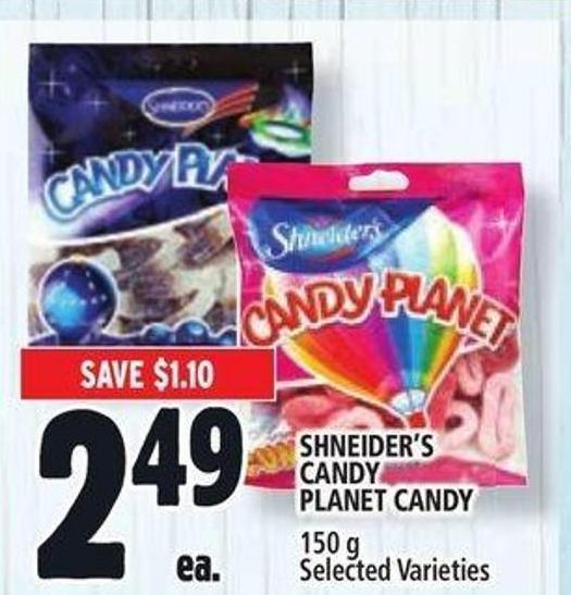 Shneider's Candy Planet Candy