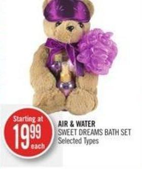 Air & Water Sweet Dreams Bath Set