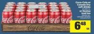 Coca-cola Or Canada Dry Soft Drinks 24x355 mL or Nestea Iced Tea 20x341 mL