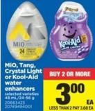 Mio - Tang - Crystal Light Or Kool-aid Water Enhancers - 48 Ml/24-56 g