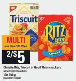 Christie Ritz - Triscuit Or Good Thins Crackers - 120-300 G