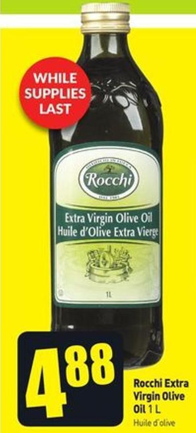 Rocchi Extra Virgin Olive Oil 1 L