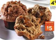 Compliments Maple Muffins With Maple Filling 4 Pk 440 g