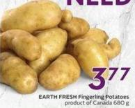 Earth Fresh Fingerling Potatoes