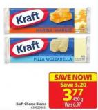 Kraft Cheese Blocks