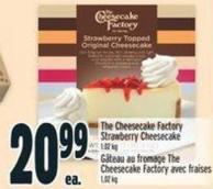 The Cheesecake Factory Strawberry Cheesecake 1.02 Kg